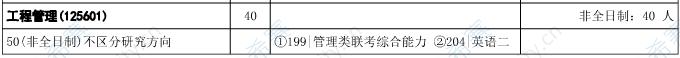 2021年华中科技大学管理学院工程管理硕士MEM招生目录